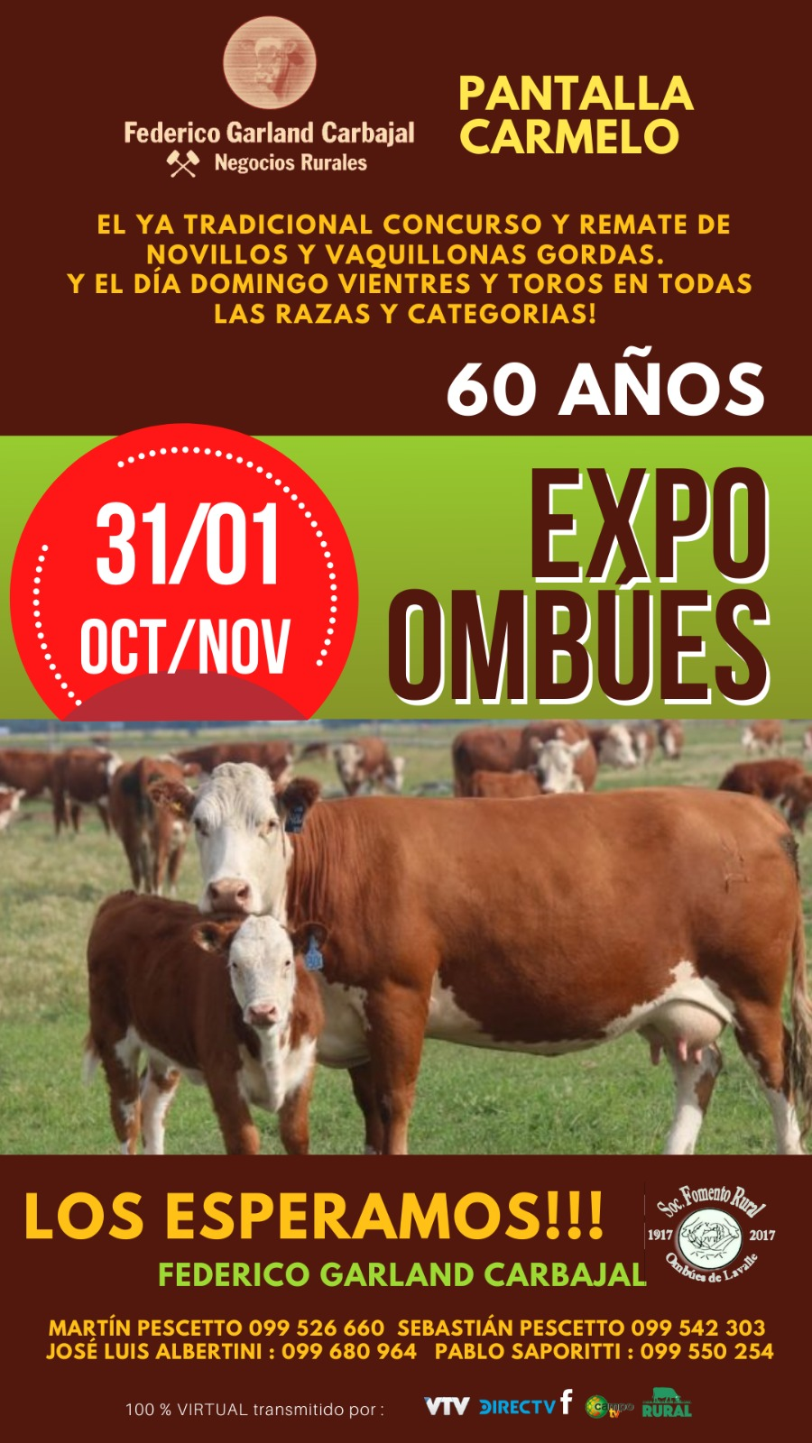 Afiche Expo Ombues